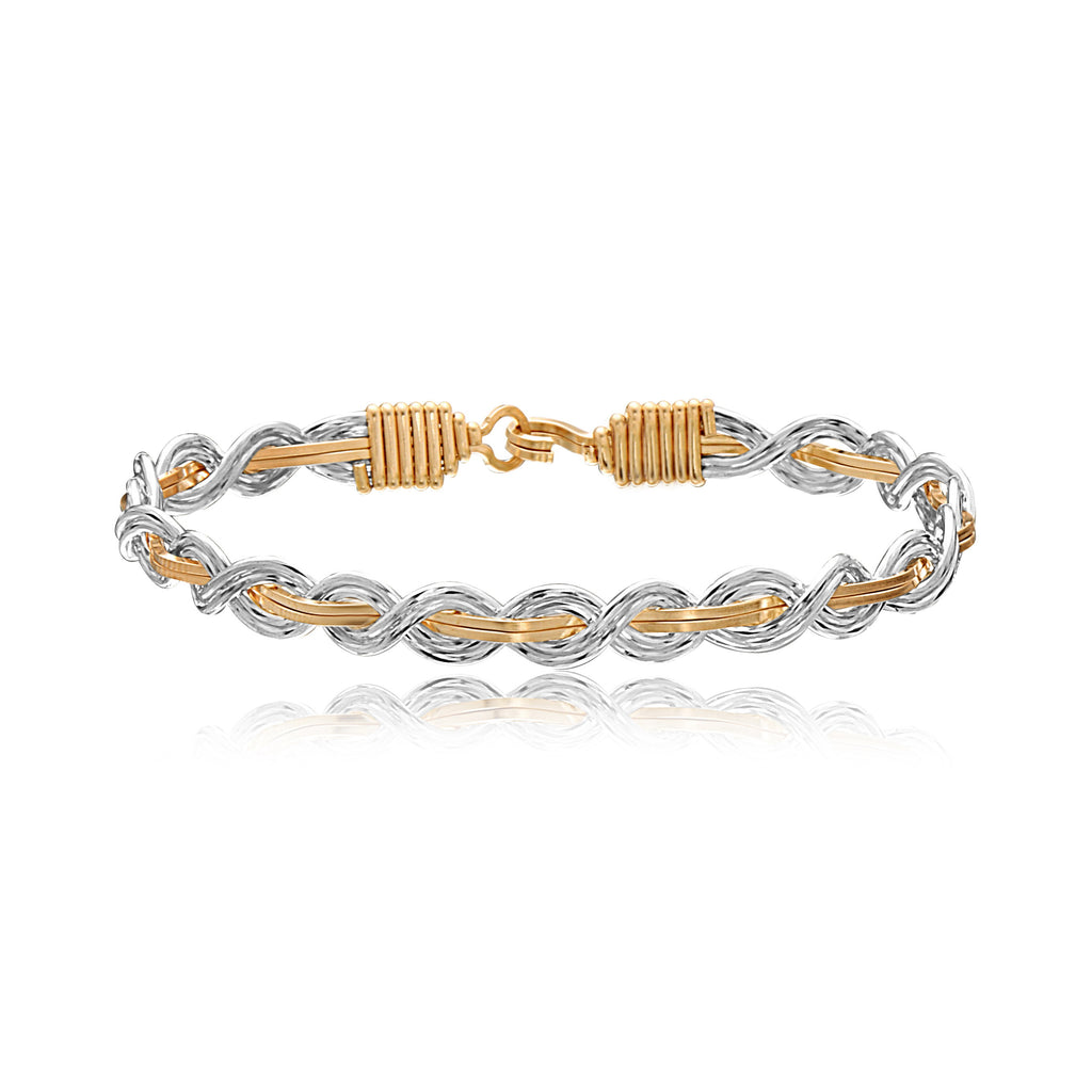 Ronaldo Let It Shine Bracelet - Silver/Gold