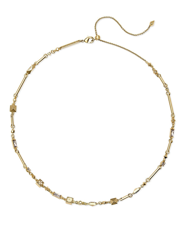 Kendra Scott Rhett Necklace - Smoky Crystal