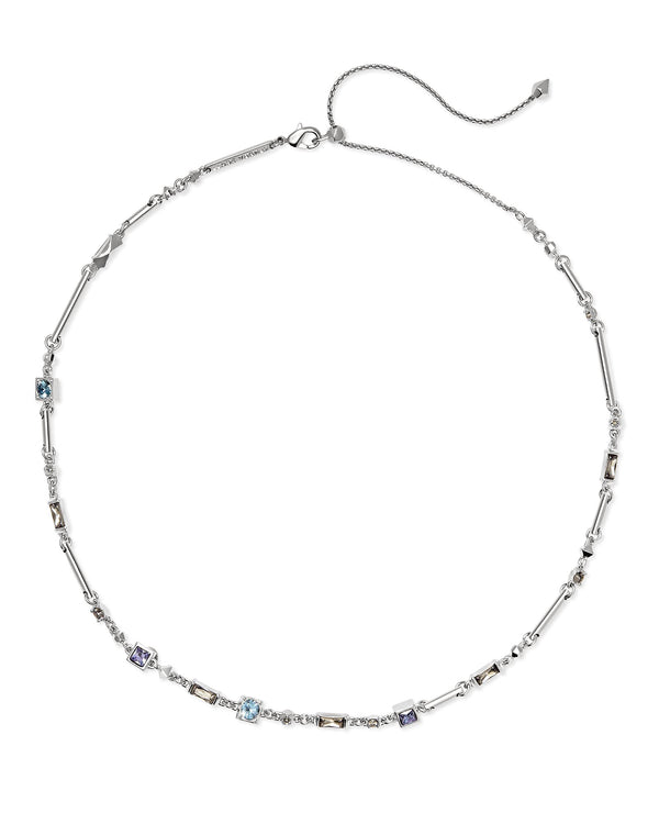 Kendra Scott Rhett Necklace - Lilac Crystal