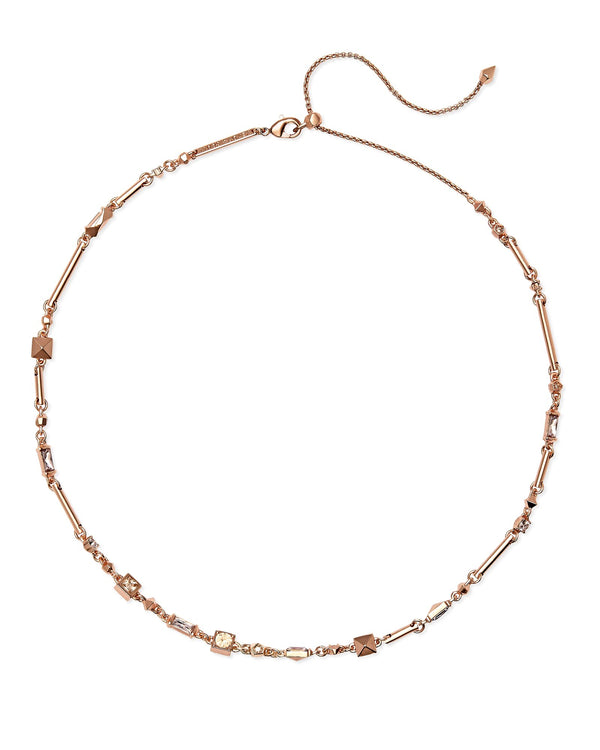 Kendra Scott Rhett Necklace - Blush Crystal