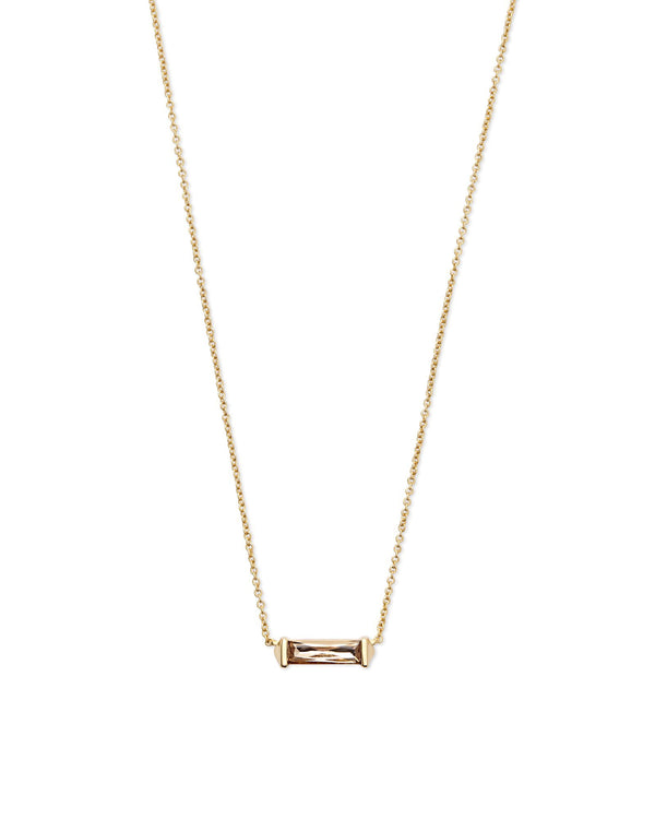 Kendra Scott Rufus Necklace - Smoky Crystal