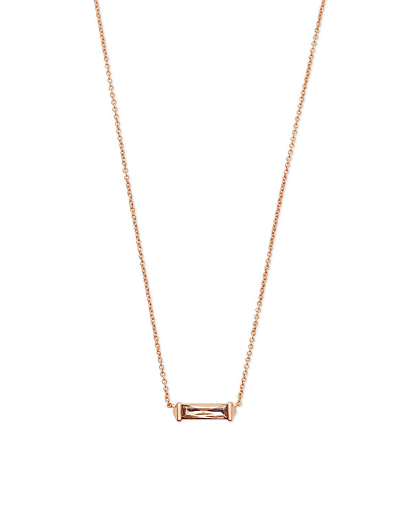 Kendra Scott Rufus Necklace - Blush Crystal
