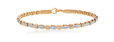 Ronaldo Now and Forever Bracelet - Gold/Silver