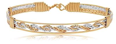Ronaldo One More Chance Bracelet - Gold/Silver