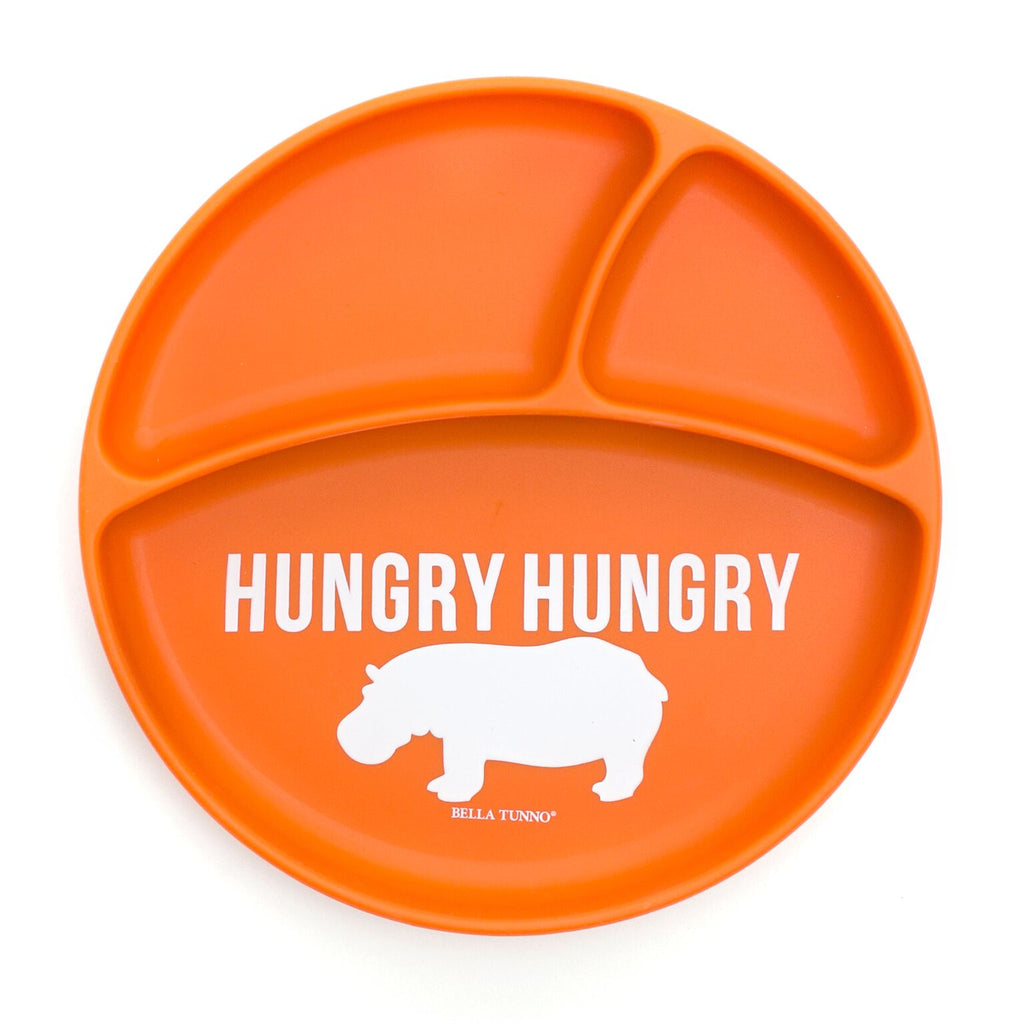 Bella Tunno Wonder Plate - Hungry Hungry Hippo