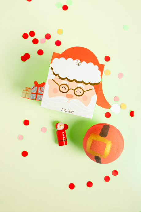 Musee Bath Balm - Santa Claus Is Coming To Town