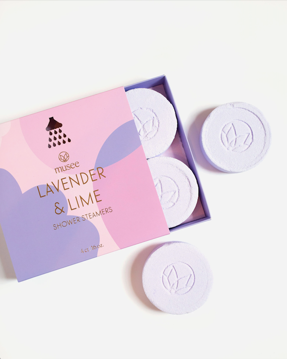 Musee Shower Steamers - Lavender & Lime