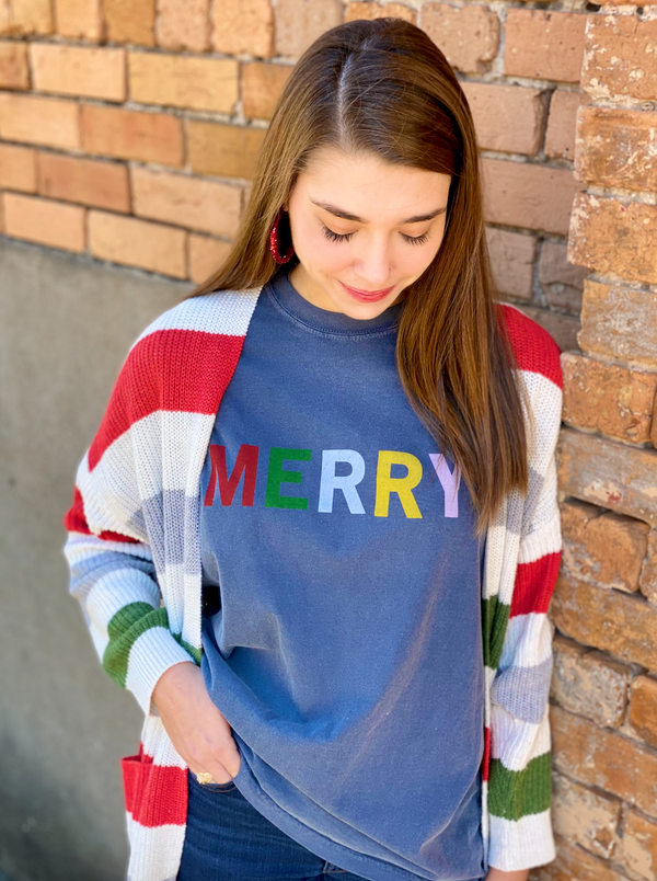Macy May Graphic Tee -  MERRY