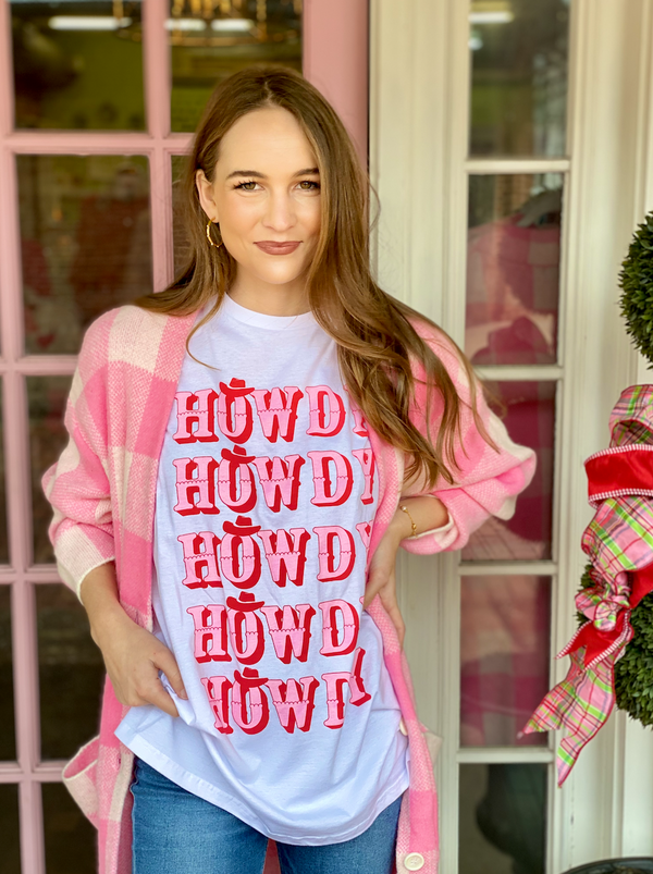 Macy May Graphic Tee - Howdy Howdy Howdy