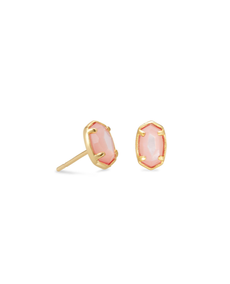 Kendra Scott Emilie Stud Earring - Gold/Rose Mother Of Pearl