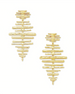 Kendra Scott Rylan Statement Earrings - Gold