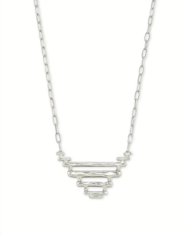 Kendra Scott Rylan Pendant Necklace - Silver