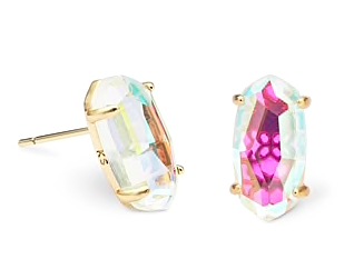 Kendra Scott Betty Earrings - Dichroic Glass