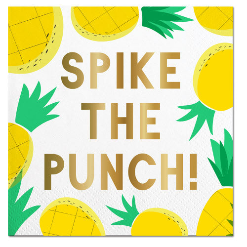 Cocktail Napkin - Spike The Punch!