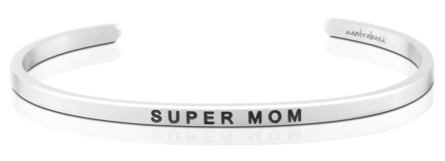 MantraBand Super Mom - Silver