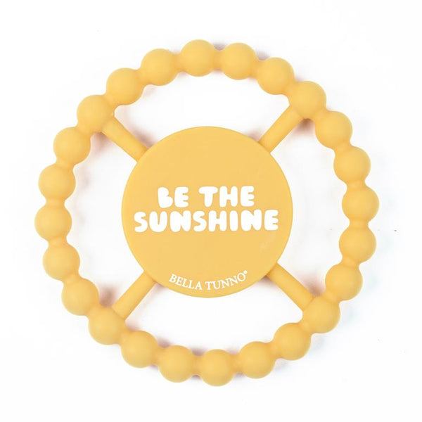 Bella Tunno Happy Teether - Be The Sunshine