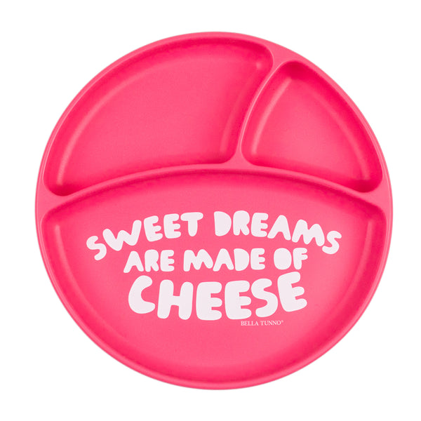 Bella Tunno Wonder Plate - Sweet Dreams Are Made Of Cheese