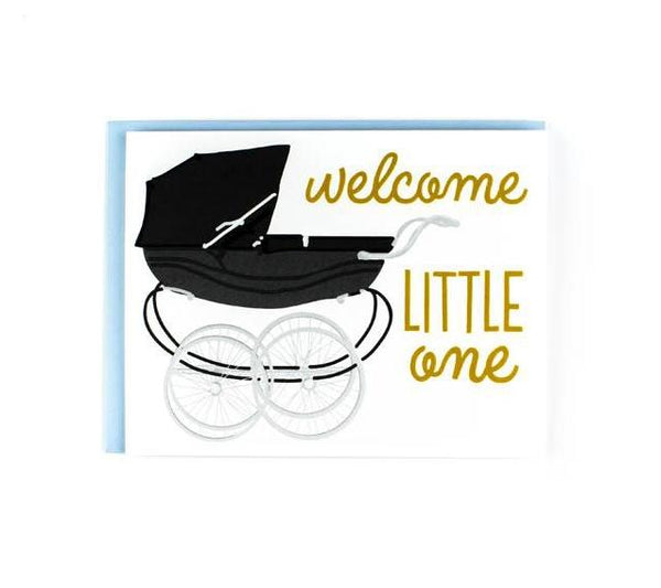 Sweet Caroline Greeting Card - Welcome Baby