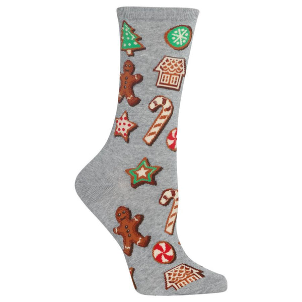 Hot Sox Women's Socks - Christmas Cookies