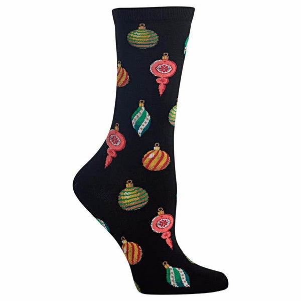 Hot Sox Women's Socks - Christmas Ornaments