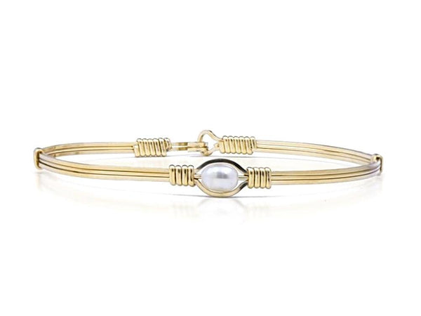 Ronaldo Pearl Of My Heart Bracelet - Gold/Pearl