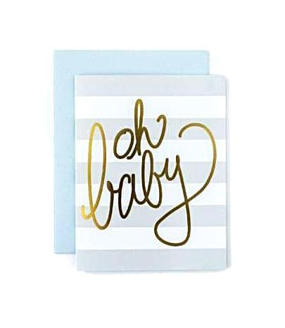 Sweet Caroline Greeting Card - Oh Baby
