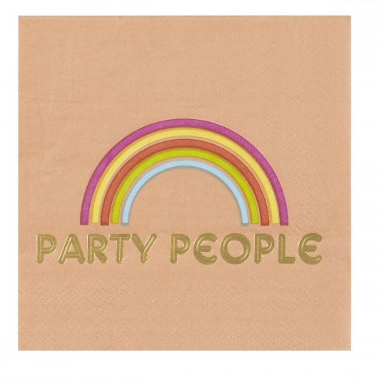 Cocktail Napkin - Party People