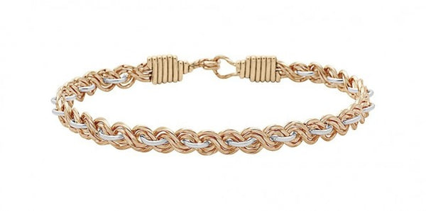 Ronaldo Because Of You Bracelet - Gold/Silver