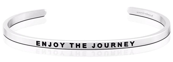 MantraBand Enjoy the Journey - Silver