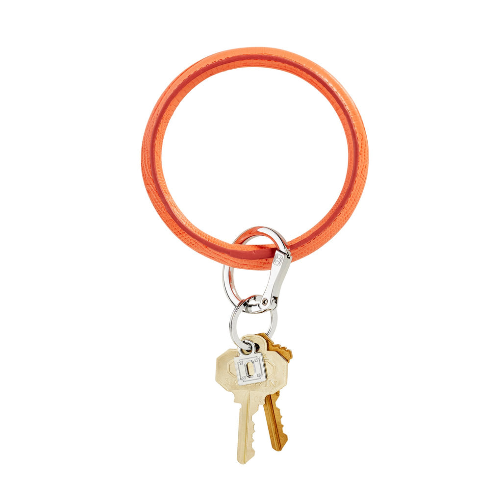 Big O Key Ring - Coral Reef Lizard