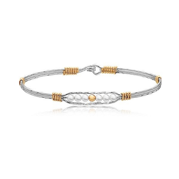 Ronaldo Creation Bracelet - Silver/Gold/Pearl