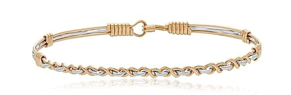 Ronaldo Empowered Bracelet - Gold/Silver