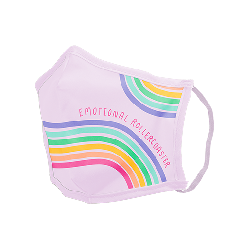 Stylish Face Mask  - Emotional Rollercoaster