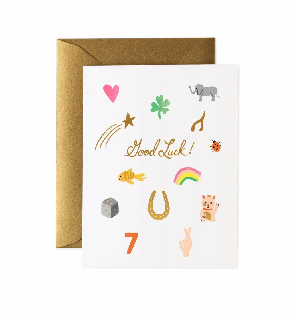 Rifle Paper Co. Greeting Card - Good Luck Charms