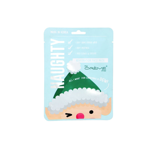 Creme Shop Naughty Sheet Mask -  All I Want For Christmas is Dew