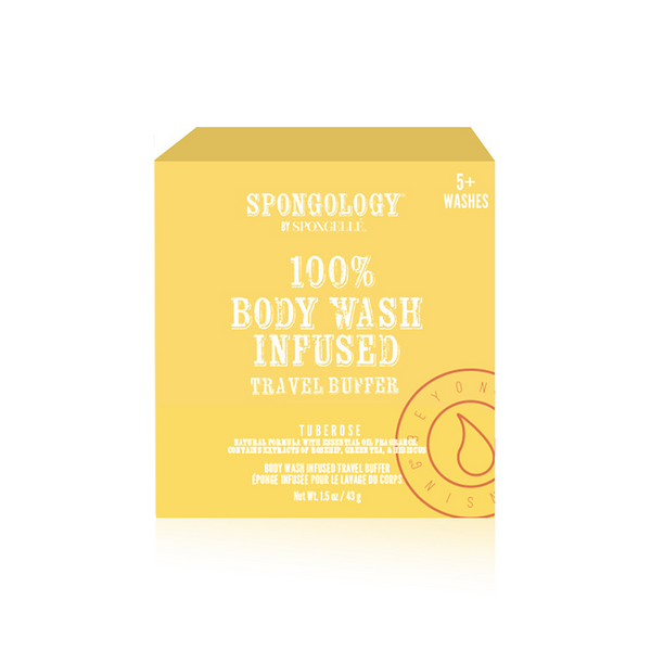 Spongology Infused Travel Buffer - Tuberose