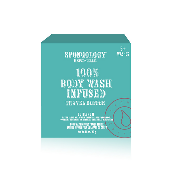Spongology Infused Travel Buffer - Olibanum