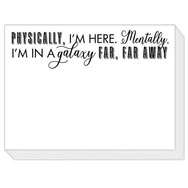 Rosanne Beck Slab Pad - Physically I'm Here