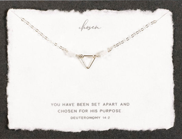 Dear Heart Designs Chosen Necklace - Gold