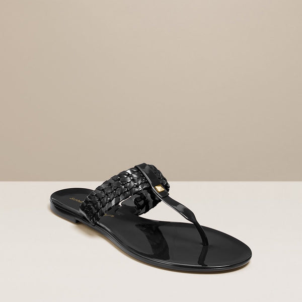 Jack Rogers Tinsley Jelly Sandals - Black