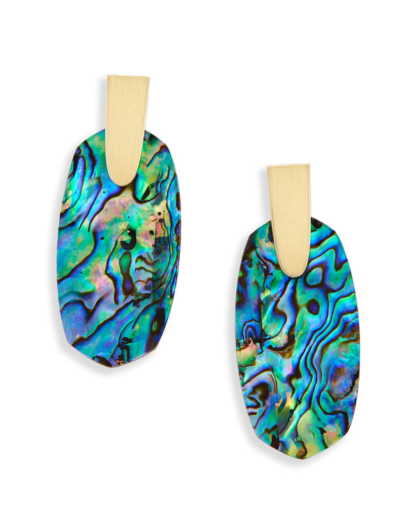 Kendra Scott Aragon Earrings - Abalone