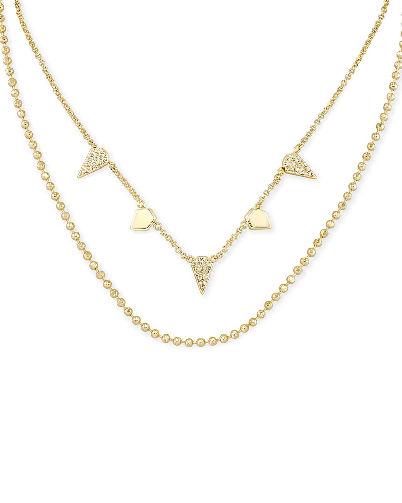 Kendra Scott Demi Multi Strand Necklace - Gold