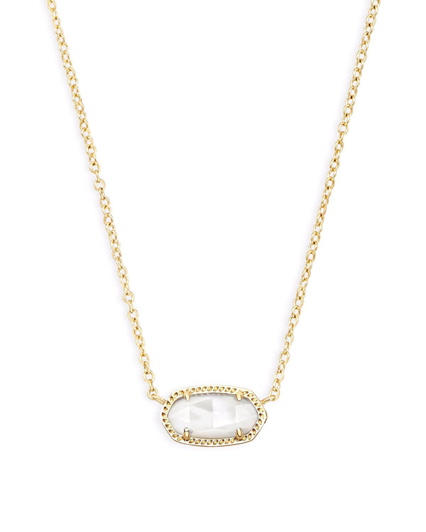 Kendra Scott Elisa Necklace - Ivory Mother Of Pearl