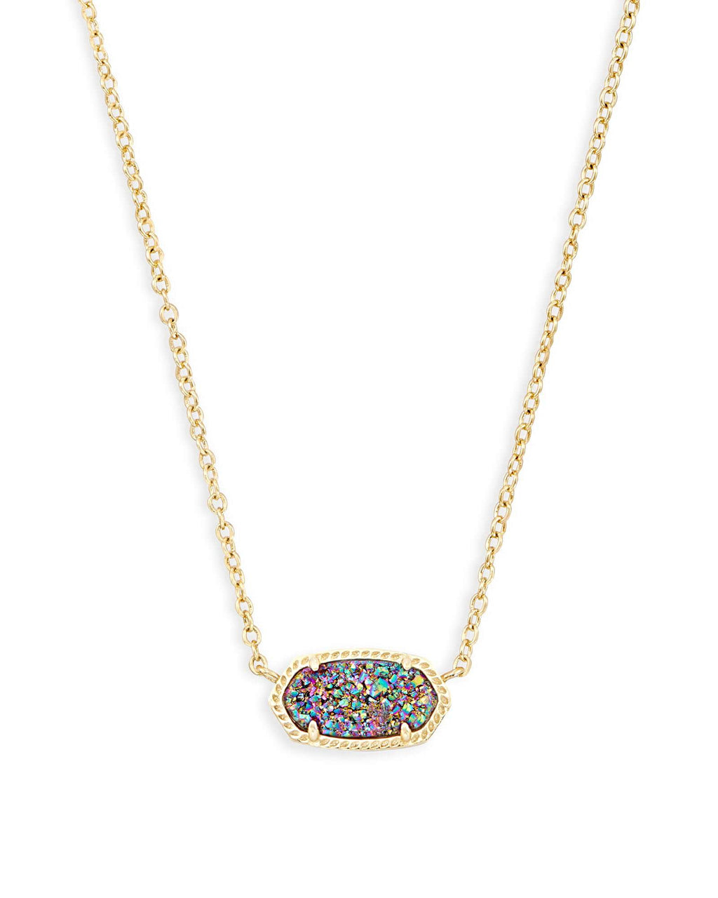 Kendra Scott Elisa Necklace - Multi Drusy