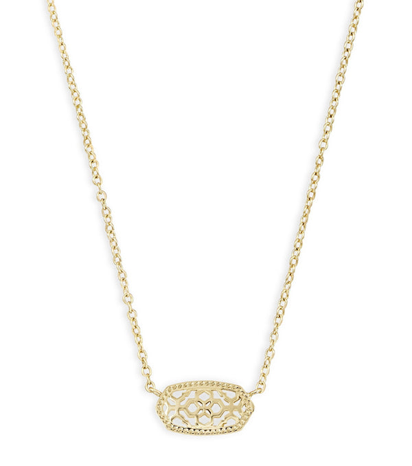 Kendra Scott Elisa Necklace - Gold Filigree