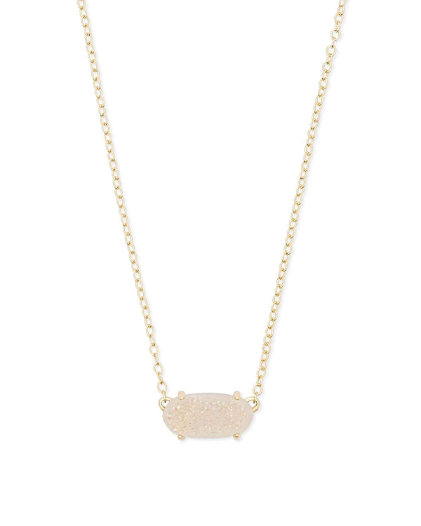 Kendra Scott Ever Necklace - Iridescent Drusy