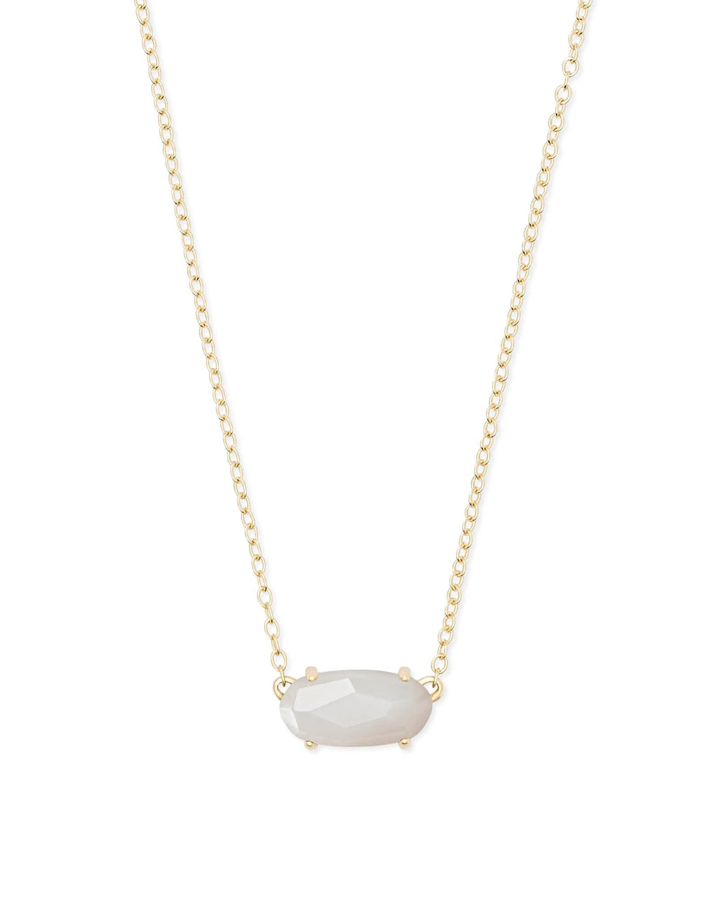 Kendra Scott Ever Necklace - Ivory Mother Of Pearl