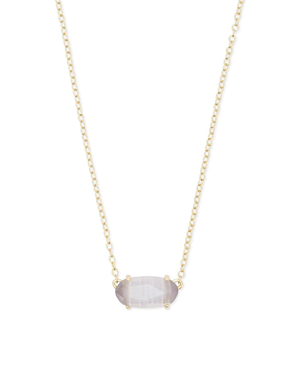 Kendra Scott Ever Necklace - Rose Gold Teal Quartzite