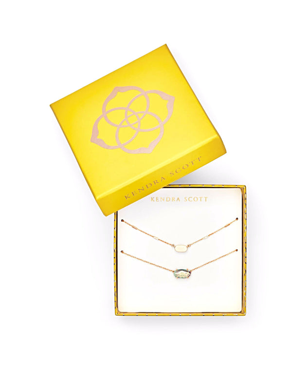 Kendra Scott Necklace Gift Set - Rose Gold