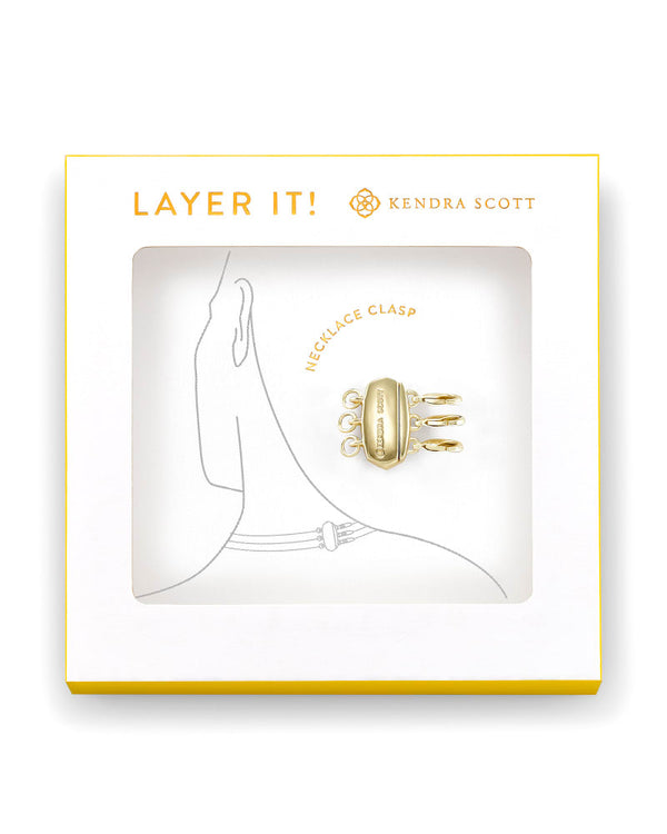 Kendra Scott Layer It! Necklace Clasp - Gold
